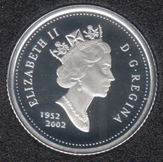 2002 - 1952 - Proof - Argent - Canada 10 Cents