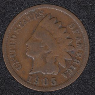 1905 - Indian Head Small Cent