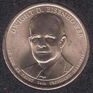 2015 D - D.D. Eisenhower - 1$