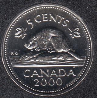 2000 W - NBU - Canada 5 Cents