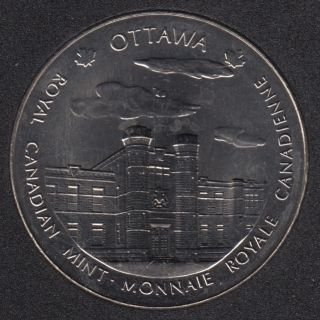 1999 - Nickel - Royal Canadian Mint - Ottawa/Winnipeg - Medaille