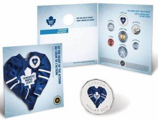 2008 2009 Toronto Maple Leafs Coin set - $1 Dollar Coloured