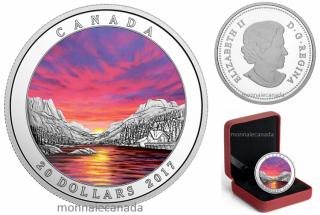 2017 - $20 - 1 oz. Pure Silver Coin – Weather Phenomenon: Fiery Sky