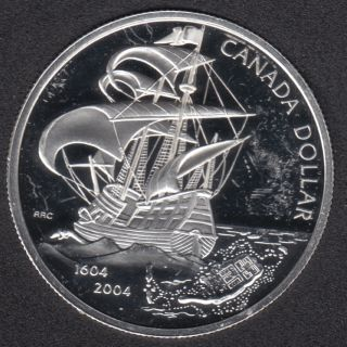 2004 - Proof - Scratch - Fine Silver - Canada Dollar