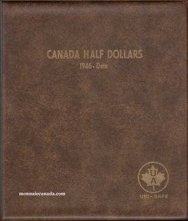 Album Canada Uni-Safe 50 Cents 1946-Date