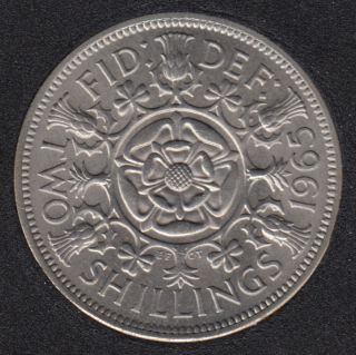 1965 - Two Shillings - B.Unc - Great Britain