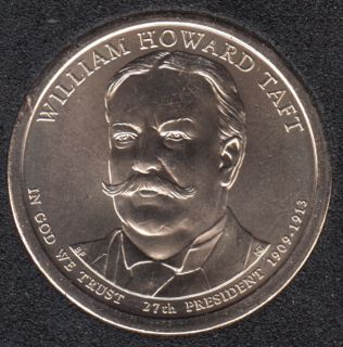 2013 P - W.H. Taft - 1$