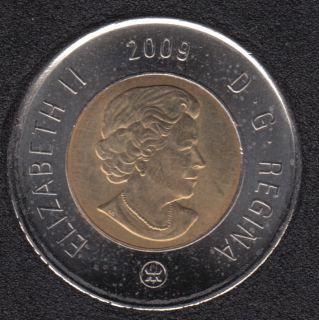 2009 - B.Unc - Canada 2 Dollars