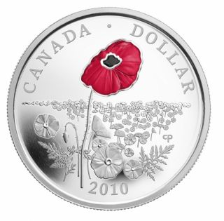 2010 Limited Edition Proof Dollar - Poppy
