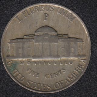 1942 P - Jefferson - Wartime Silver - 5 Cents