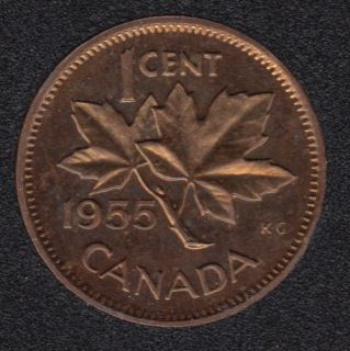 1955 - Proof Like - Canada Cent