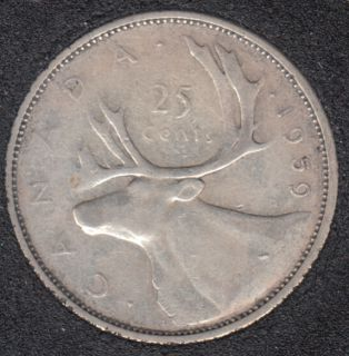 1959 - Canada 25 Cents