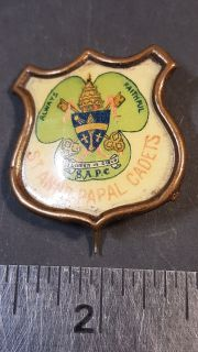 #110 St Ann's Papal Cadet Medal
