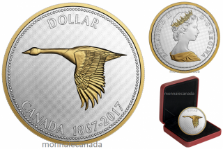 2017 - $1 - 5 oz. Pure Silver Coin – Big Coin Series: Alex Colville Designs: 1 Dollar