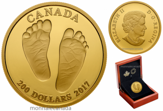 2017 - $200 - Baby Gift – Welcome to the World Gold Coin