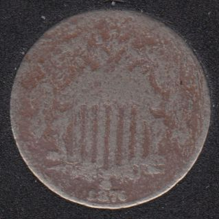 1876 - Shield - 5 Cents