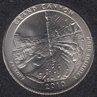 2010 D - Grand Canyon - 25 Cents