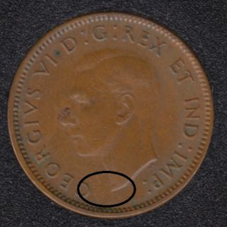 1941 - Break Bust to G - Canada Cent