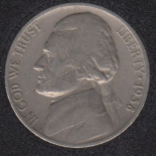 1938 - Jefferson - 5 Cents