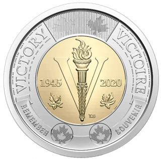 2020 - $2 - 75th Anniversary of the End of the Second World War