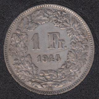 1945 B - 1 Franc - Switzerland