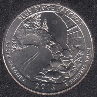 2015 D - Blue Ridge Parkway - 25 Cents