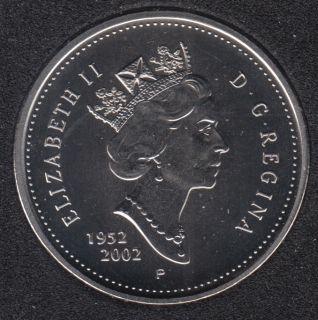 2002 - 1952 P - Specimen - Canada 50 Cents