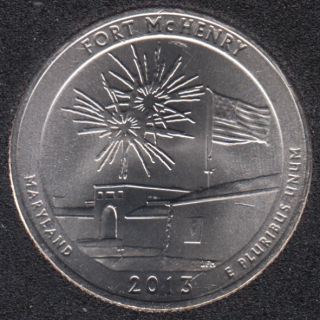 2013 D - Fort McHenry - 25 Cents