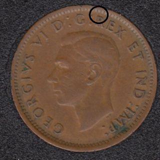 1946 - Break R to Rim - Canada Cent