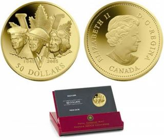 2005 - $50 - 14 Karat Gold 60th Anniversary of the End of 2nd World War