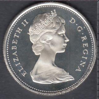 1967 - Proof Like - Ultra Heavy Cameo - Canada 25 Cents