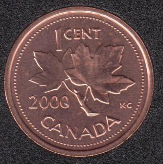 2000 - B.Unc - Canada Cent