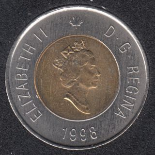 1998 - B.Unc - Canada 2 Dollars