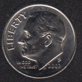 2002 P - Roosevelt - B.Unc - 10 Cents