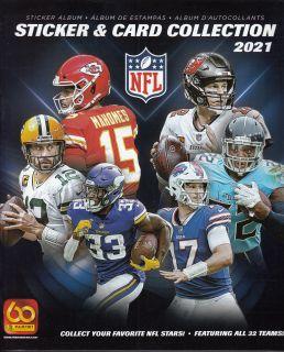 Football NFL - Album Autocollants et Cartes 2021 - Panini