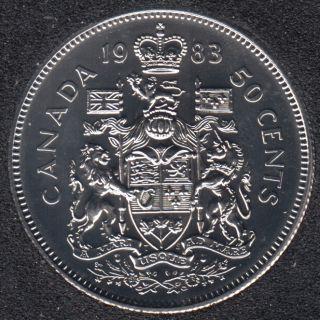 1983 - NBU - Canada 50 Cents