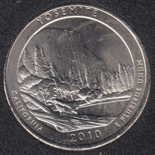 2010 P - Yosemite - 25 Cents