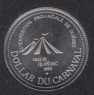 Quebec - 1985 Carnaval de Québec - Eff. 1979 / Expo. Provincial - Dollar de Commerce