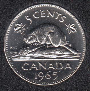1965 - B.Unc - Canada 5 Cents