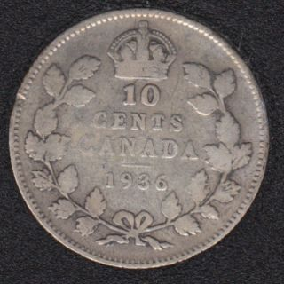 1936 - Canada 10 Cents