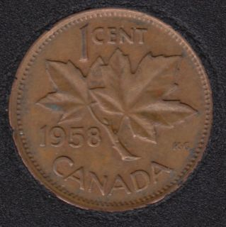 1958 - Canada Cent