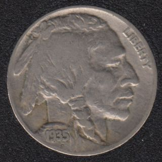 1935 - Indian Head - 5 Cents