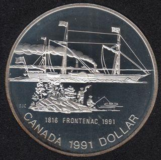 1991 - Proof - Argent - Canada Dollar