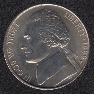 1999 P - Jefferson - B.Unc - 5 Cents