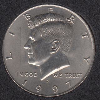 1997 D - Kennedy - 50 Cents