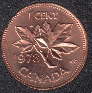 1978 - B.Unc - Canada Cent