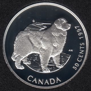 1997 - Proof - Newfoundland - Sterling Silver - Canada 50 Cents