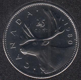 1980 - NBU - Canada 25 Cents