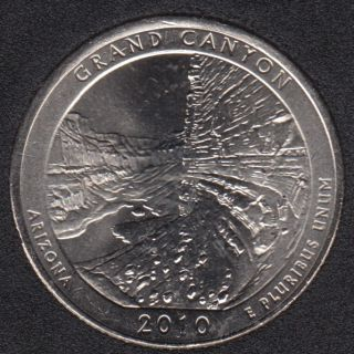 2010 P - Grand Canyon - 25 Cents