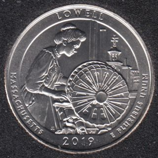 2019 D - Lowell - 25 Cents